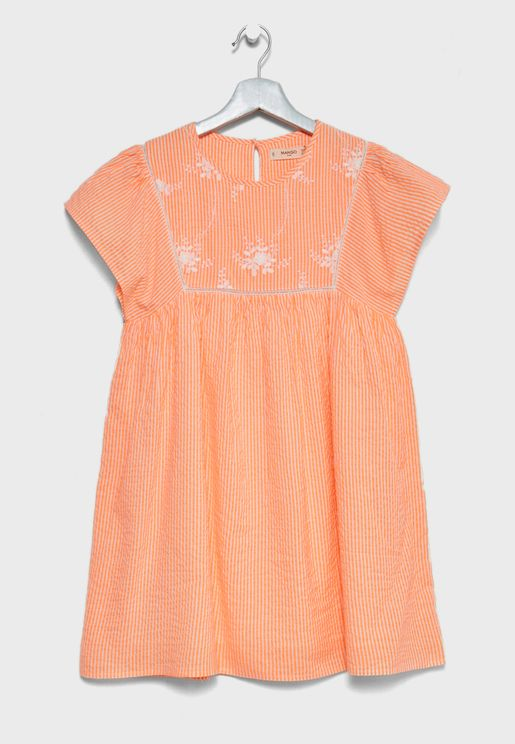 Little Embroidered Dress