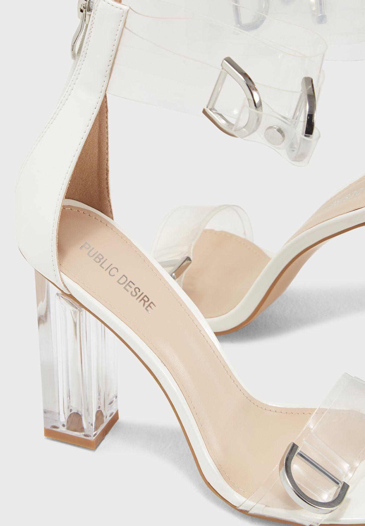 Tonic Perspex Sandal