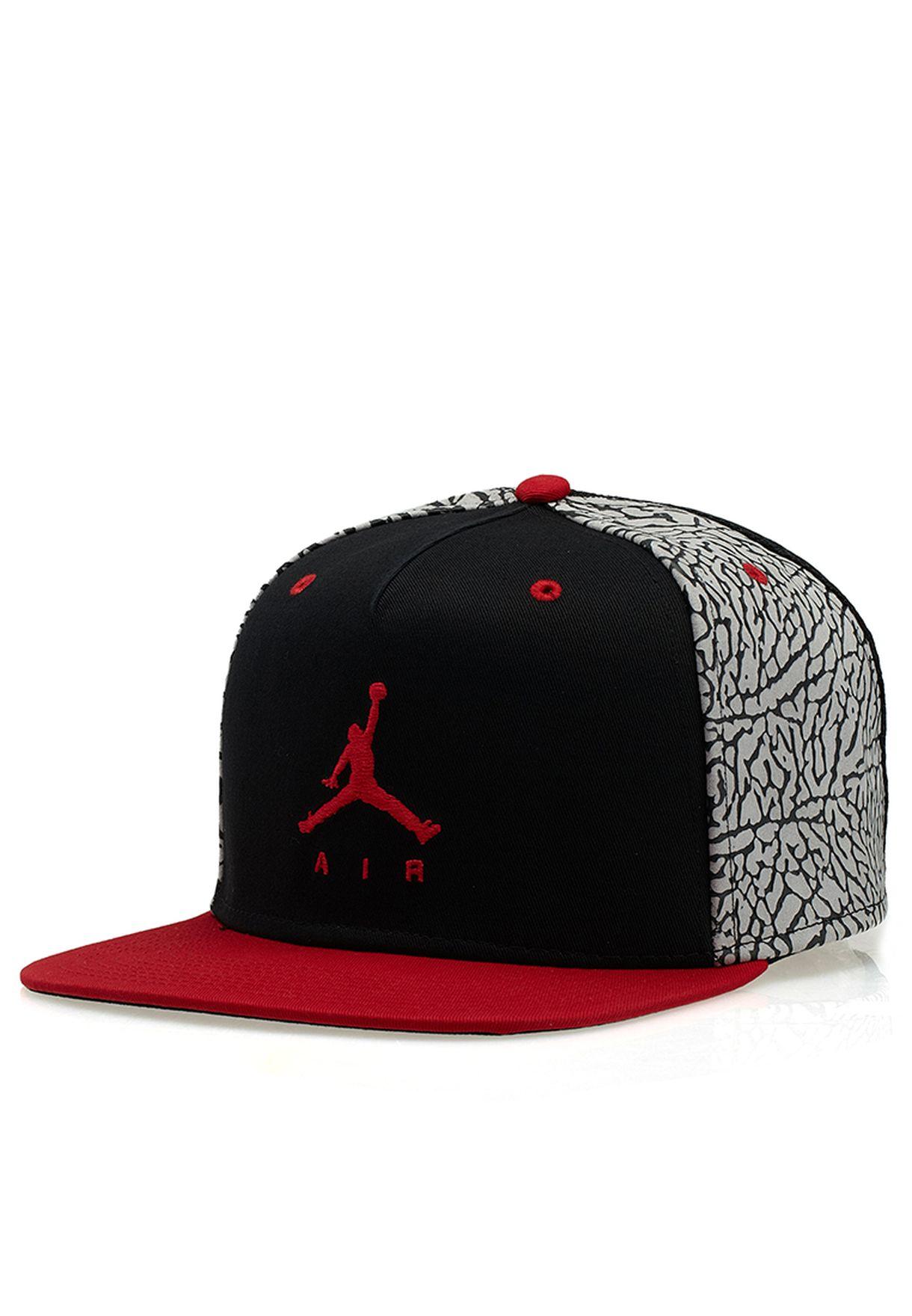 9dd17af86a9 Shop Nike multicolor Jordan Jumpman Air Cap NKAP589014-011 for Men ...