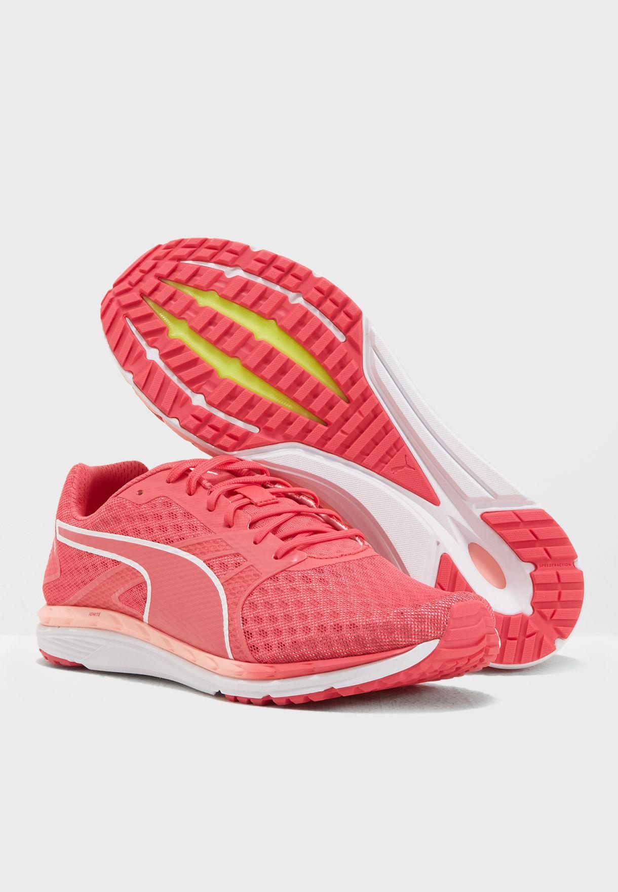 f8f00cc678b Shop PUMA pink Speed 300 IGNITE 3 Wn 19091201 for Women in ...