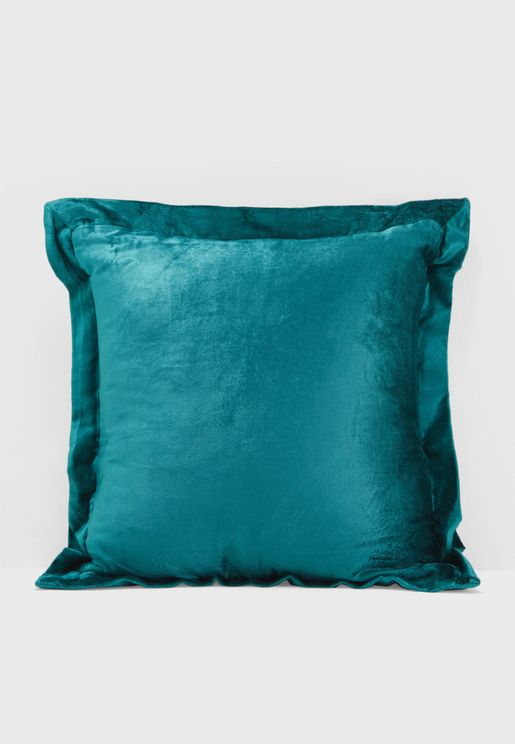 Emerald Velvet Cushion With Insert 45x45cm