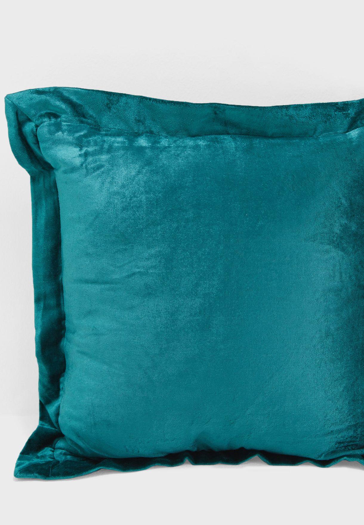 Emerald Velvet Cushion With Insert 45x45cm