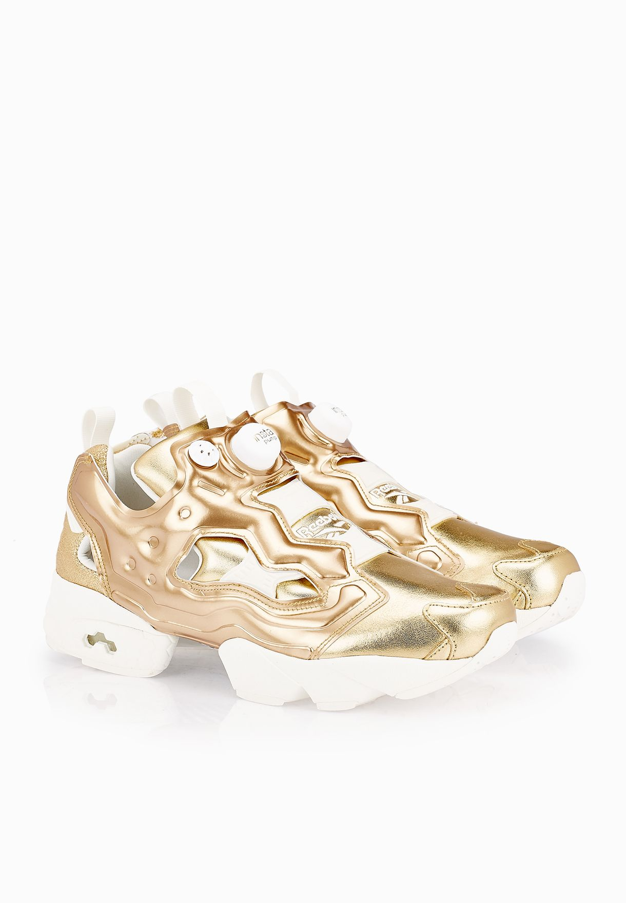 66445231 Shop Reebok gold Instapump Fury Celebrate V70094 for Women in Oman ...