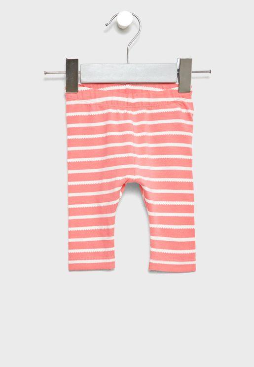 Infant Striped Leggings