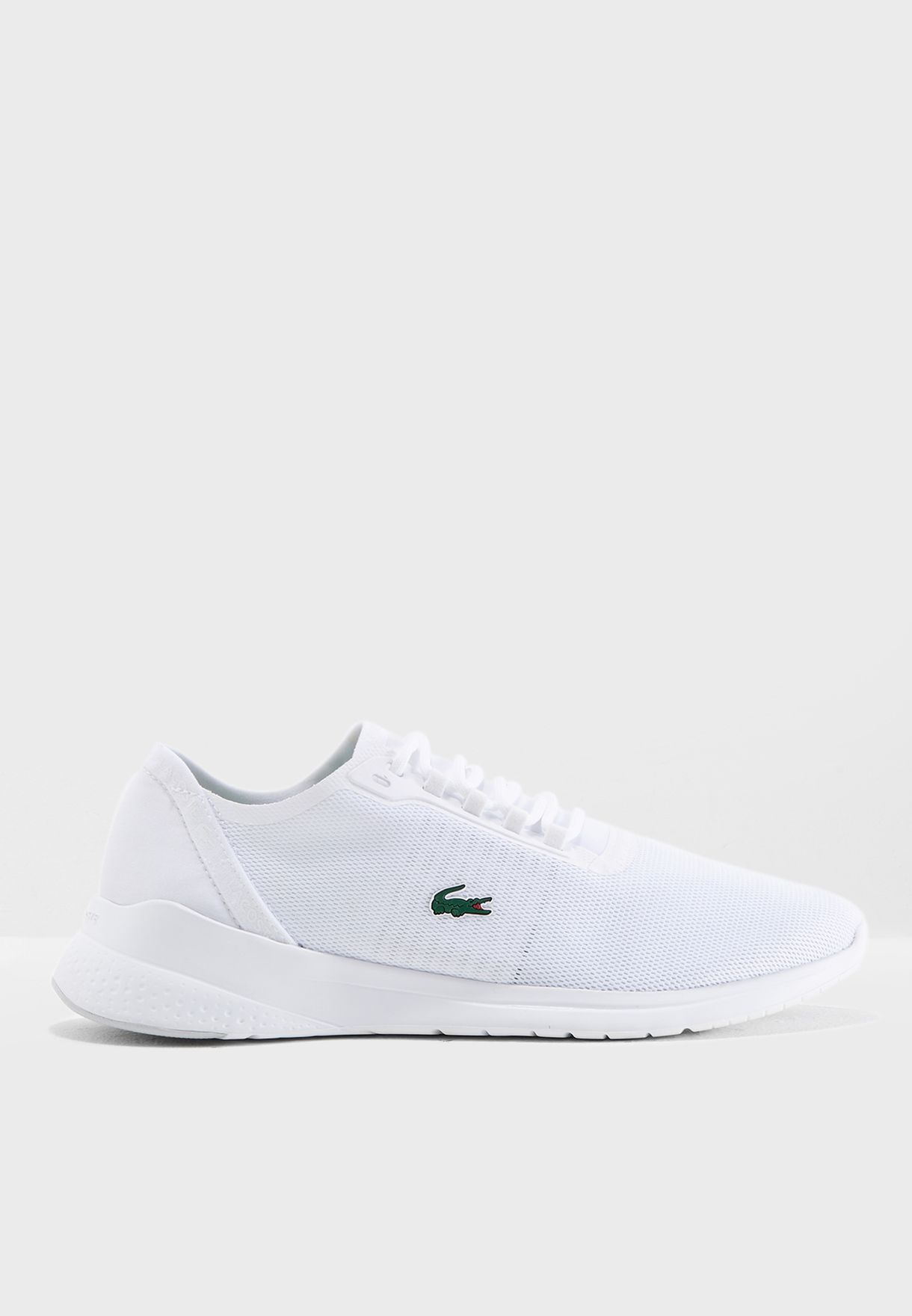 f582dc60eb942 Shop Lacoste white Lt Fit 118 4 Spw Sneaker 735SPW0038 for Women in ...