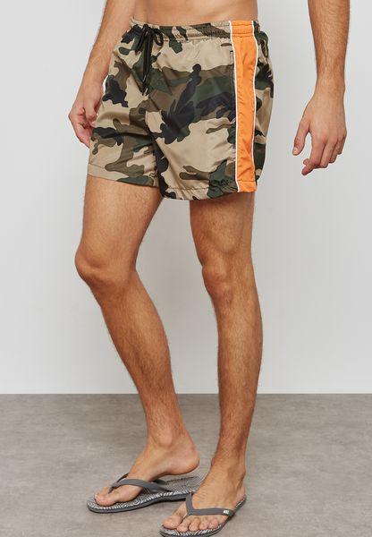 Cuban Camo Shorts