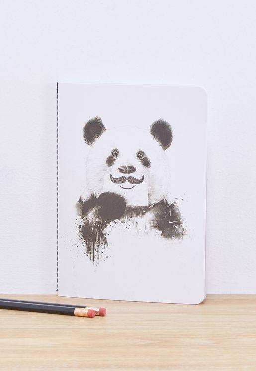A5 Panda Notebook