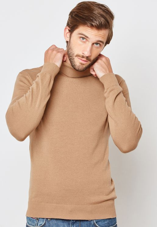 Knitted Roll Neck