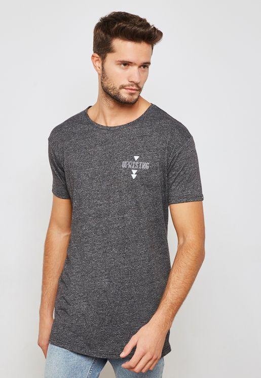 Anemia Back Print T-Shirt