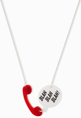 Tatty Devine Phone Call Necklace