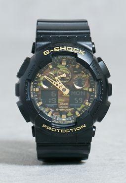 GA-100CF-1A9DR Watch