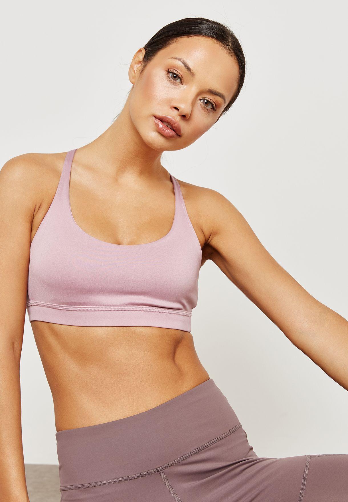 e5af509dd0 Shop Reebok purple Workout Ready Tri Back Bra D95513 for Women in Saudi -  RE019AT64YNB