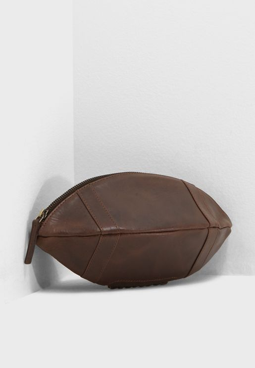 Football Shape Washbag