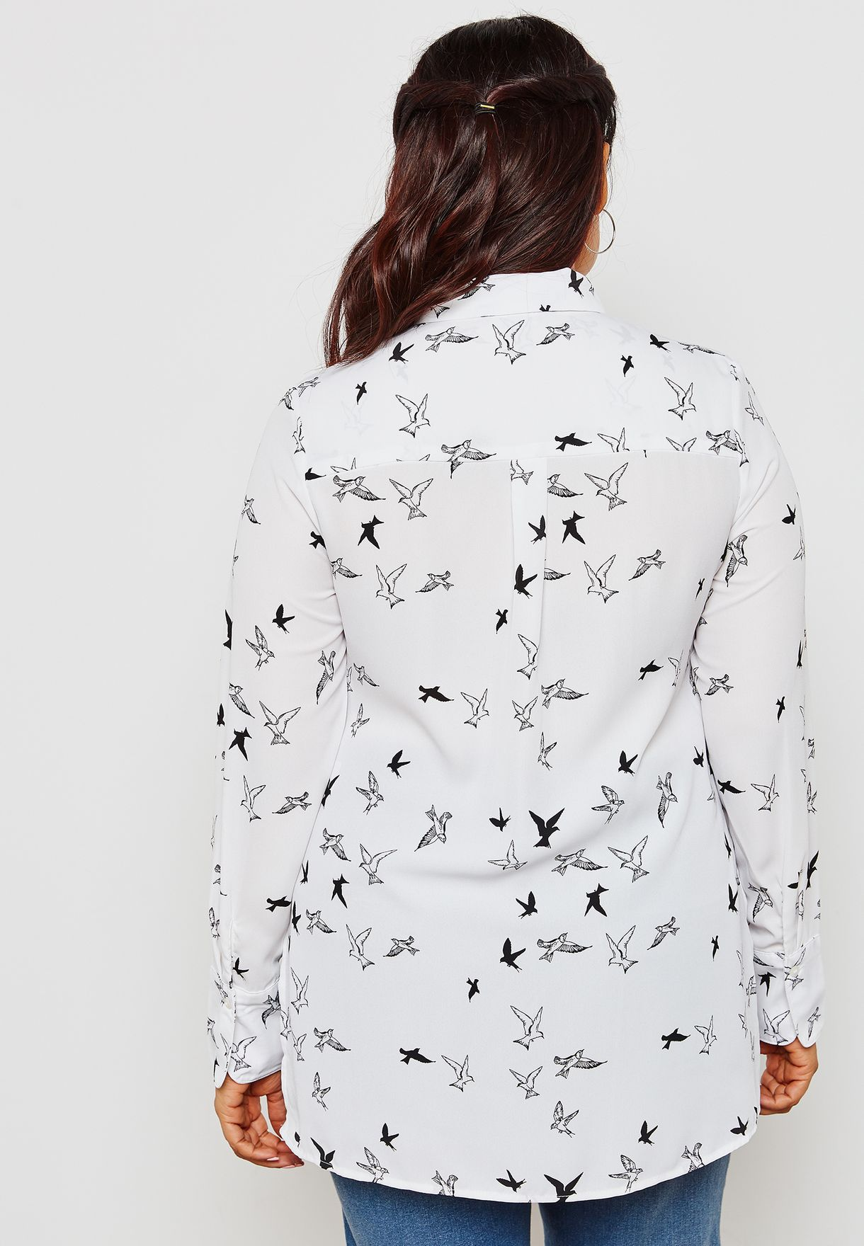 Bird Printed Shirt