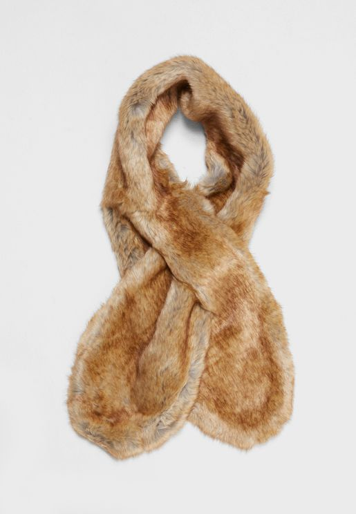 Janna Fake Fur Collar