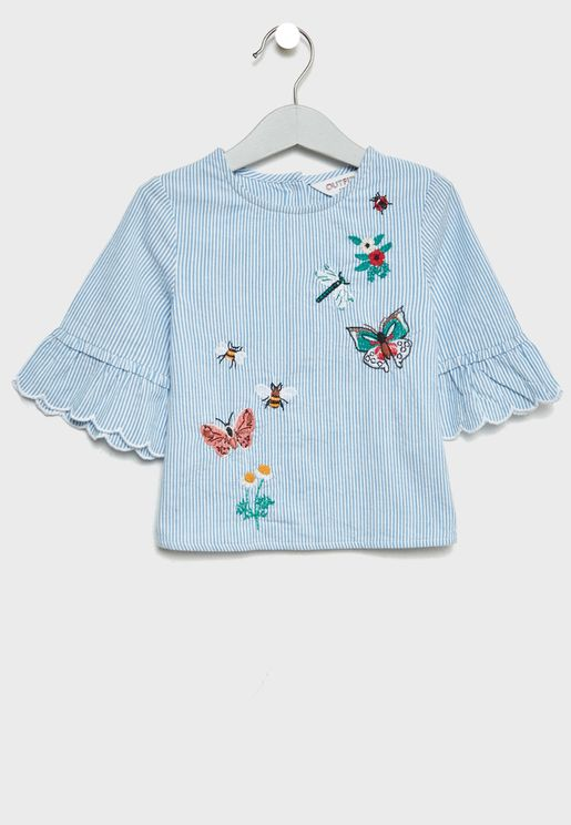 Infant Embroidered Top