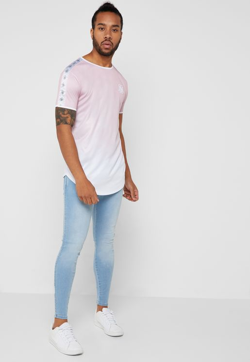 Light Washed Skinny Fit Jeans
