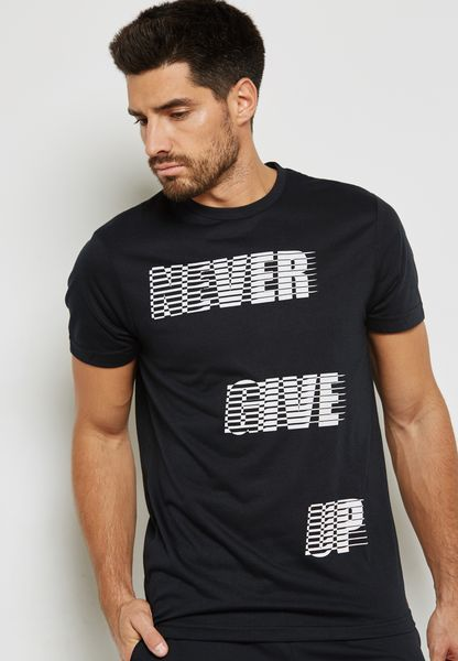 Never Graphic T-Shirt