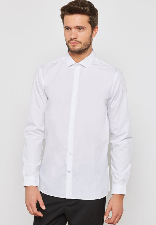 Muscle Fit Easy Iron Shirt