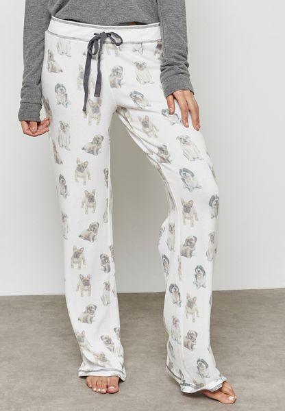Dog Printed Pyjama