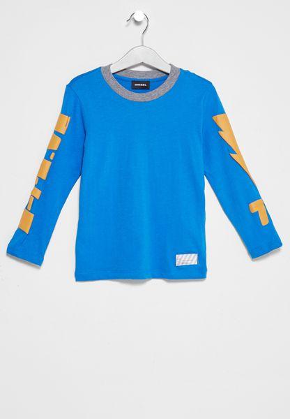 Kids Tastek Printed T-Shirt