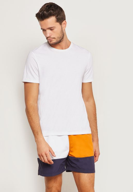 Colourblock Shorts