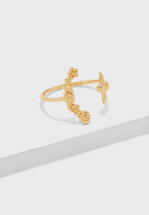 Bee Blooms Ring