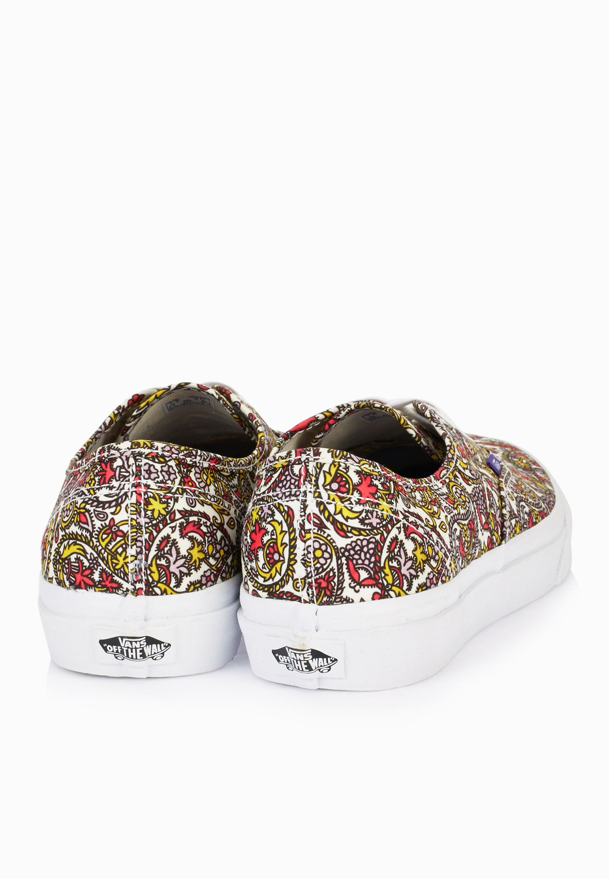 7ea415a20f967f Shop Vans prints Authentic Liberty Paisley Print Sneakers VAFT ...