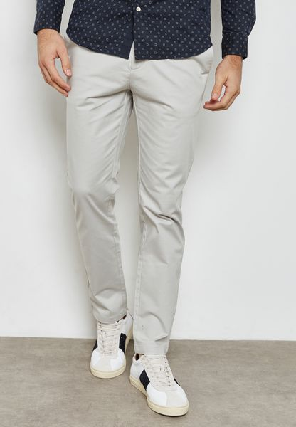 Slim Fit Stretched Chinos