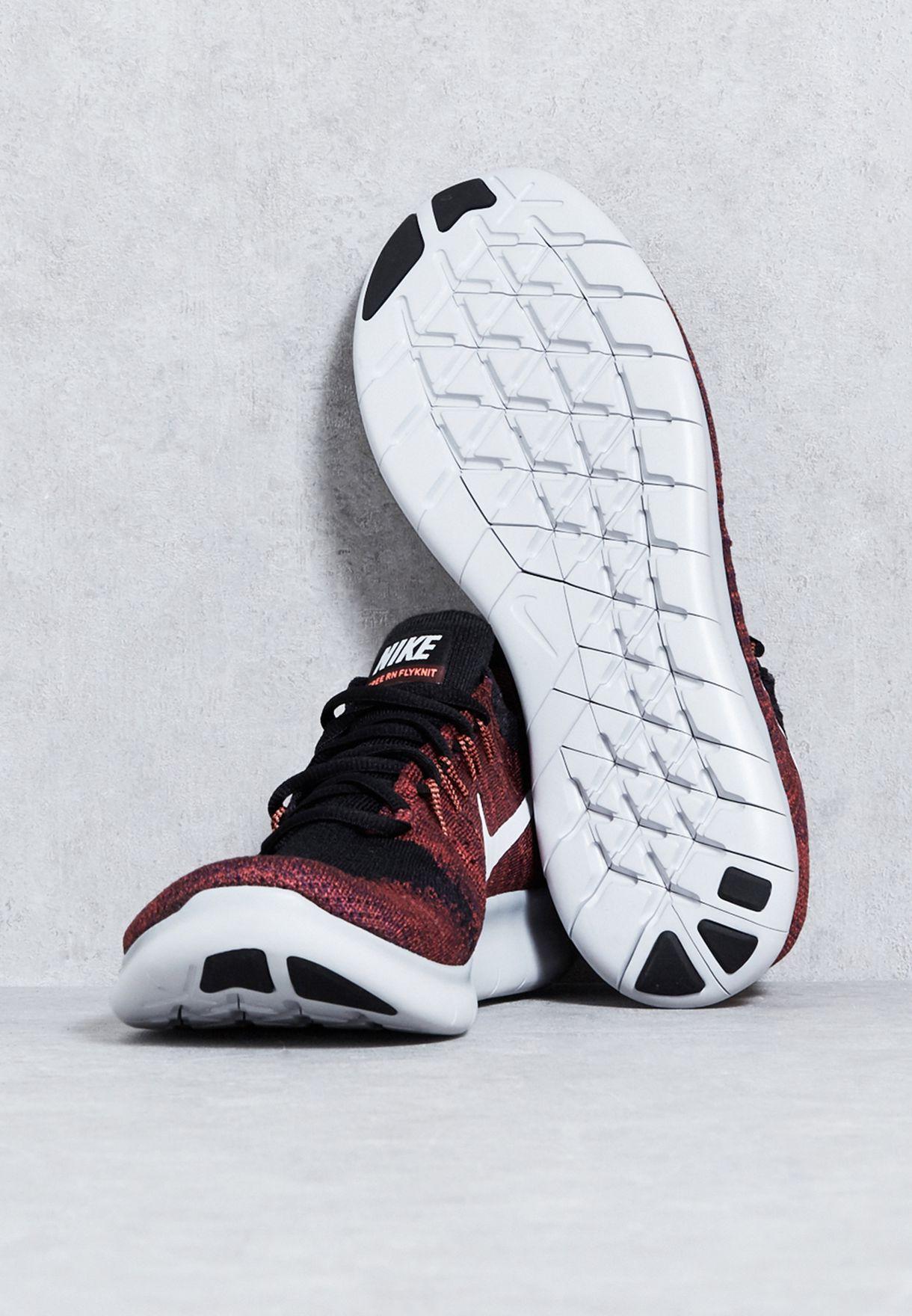 1a5a29c80a06f Shop Nike multicolor Free RN Flyknit 2 880843-006 for Men in UAE ...