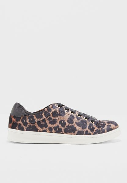 Printed Lace Up Sneaker