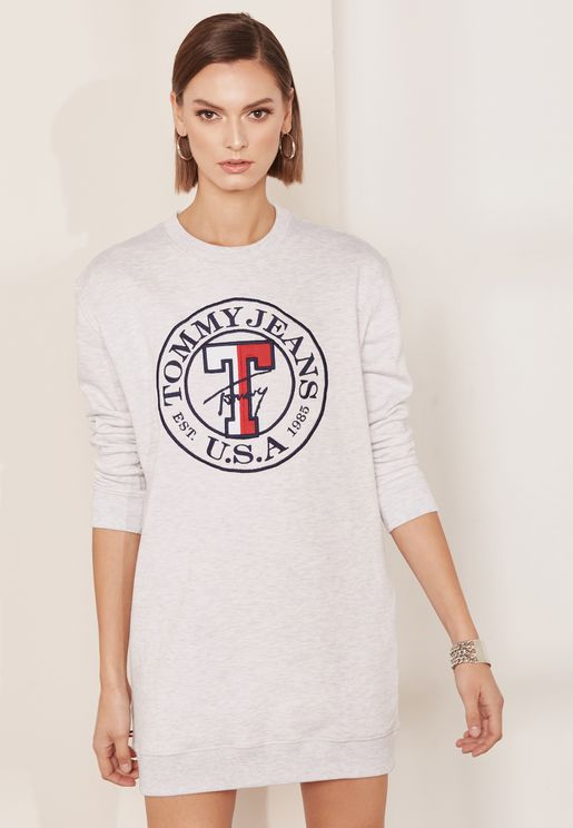 Logo Shift Dress