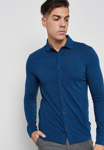 قميص بنسيج مطاطي