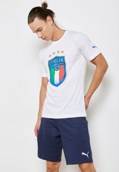 FIGC Italia Badge T-Shirt