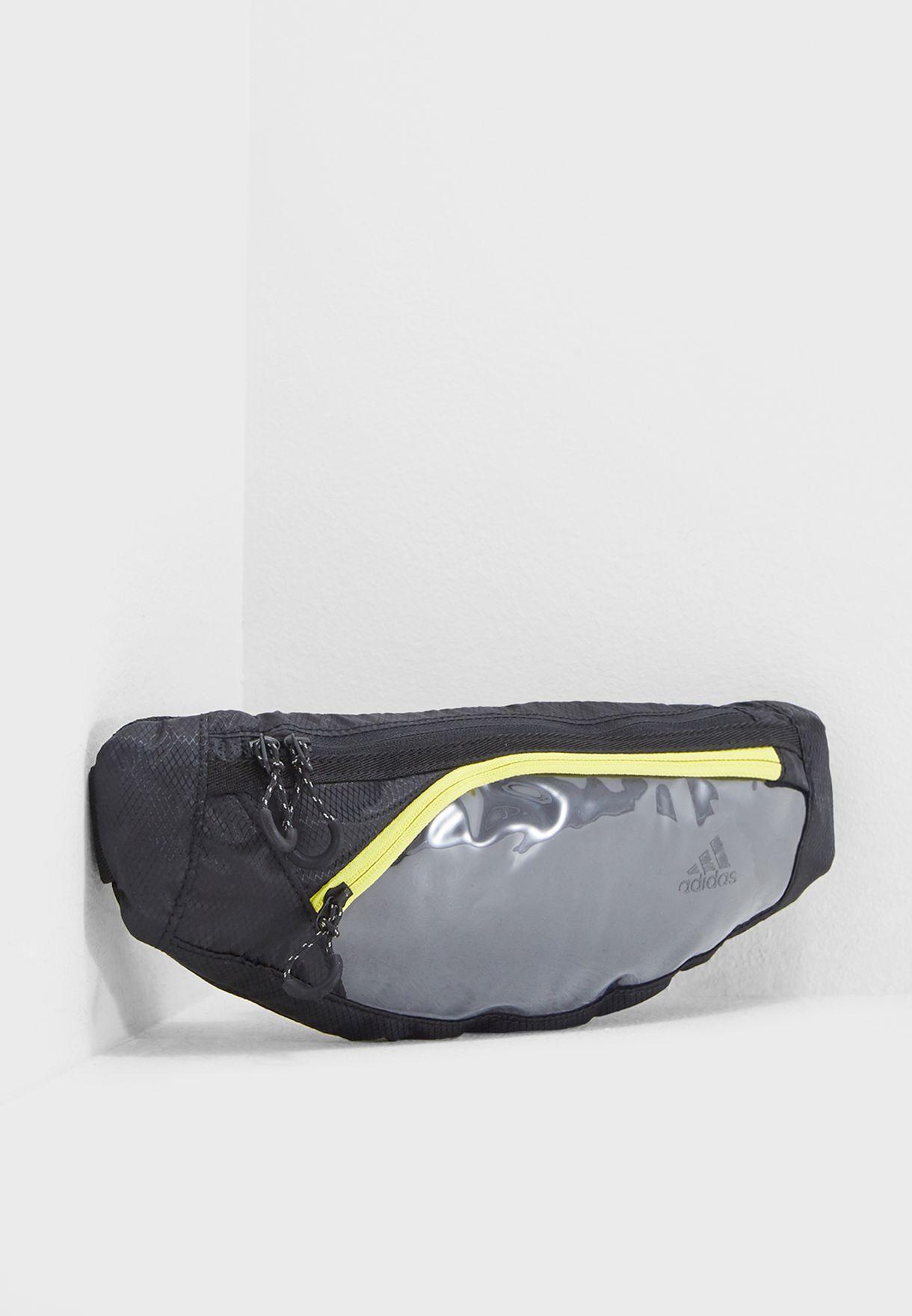 e8af1a151ae4 Shop adidas black Run Waist Bag DM3272 for Men in Saudi - AD476AC64DRR