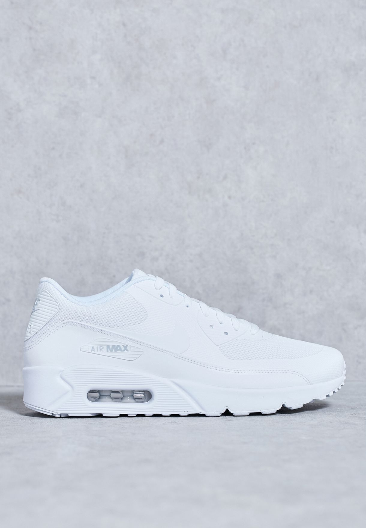 9a489d35dc Shop Nike white Air Max 90 Ultra 2.0 Essential 875695-101 for Men in ...