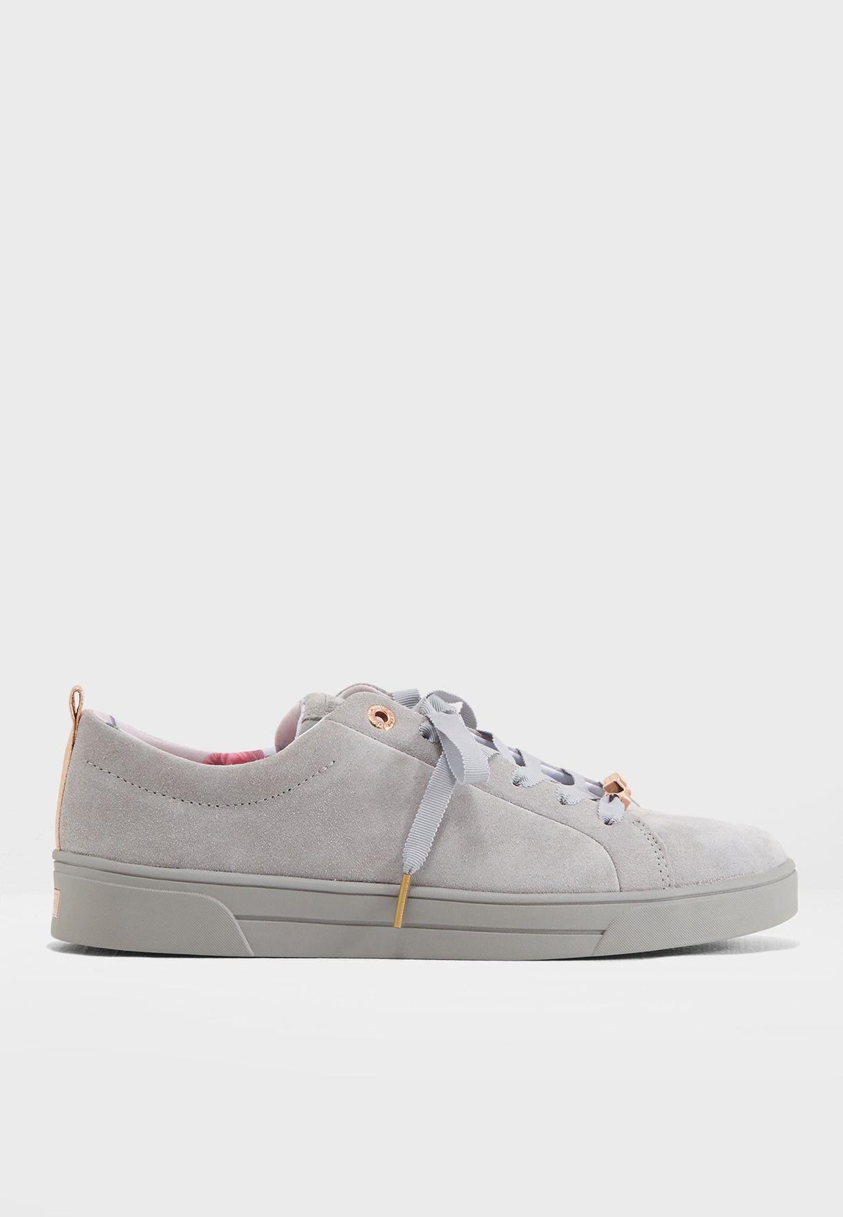 130ea0f4b31d74 Shop Ted baker grey Kelleis Casual Sneaker 917199 for Women in UAE ...