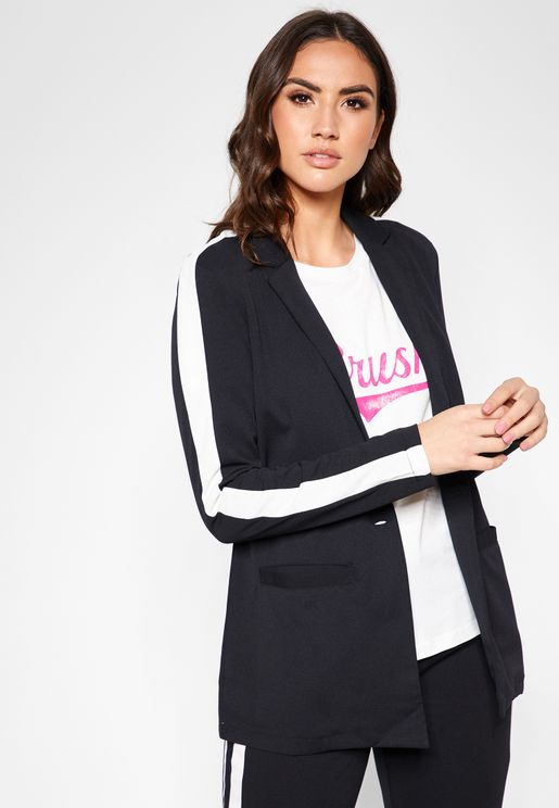 Side Striped Blazer