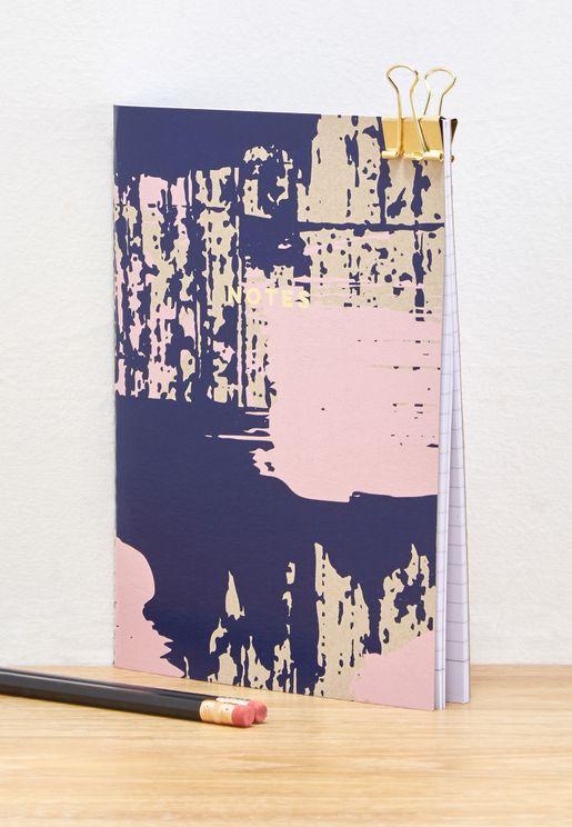 Paint Splatter A5 Notepad