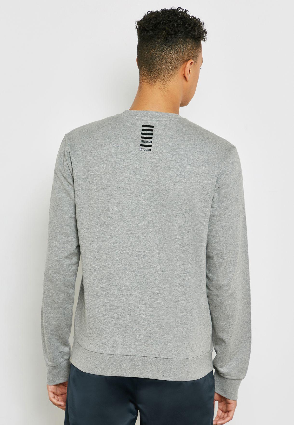 Train Core Logo Crew Neck Sweatshirt