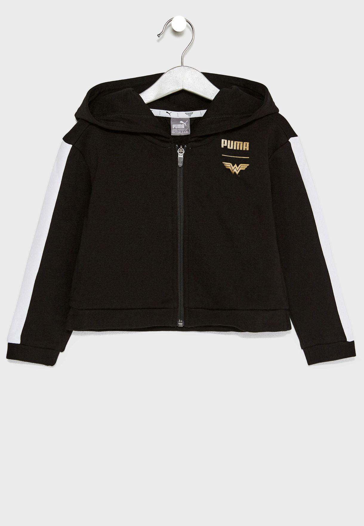 Shop PUMA black Kids Wonder Women Hoodie 85207501 for Kids in Oman -  PU020AT64PRF bec94b4a5a