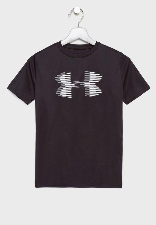 Youth Tech Logo Solid T-Shirt
