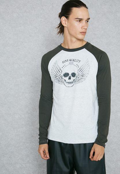 Taveri Raglan T-Shirt