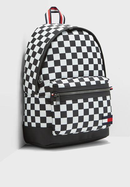 Tommy Hilfiger Backpack Checker Flag