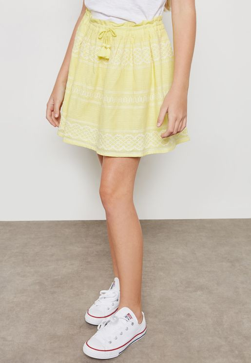 Teen Joelle Embroidered Skirt