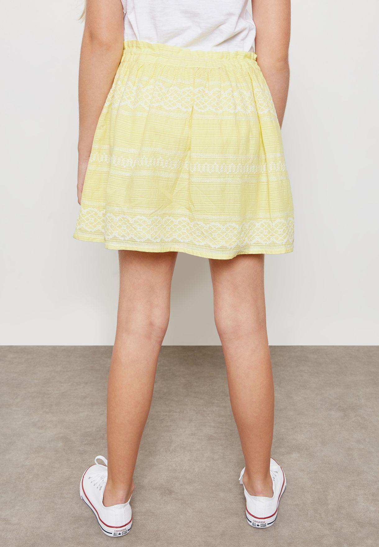 Teen Joelle Embroidered Skirt