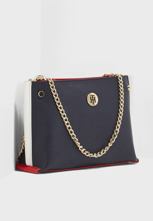Tommy Chain Crossbody