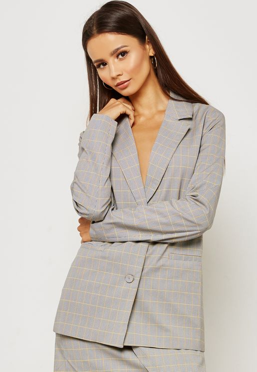 Picnic Checked  Blazer