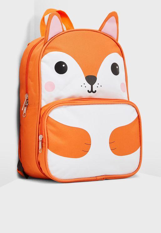 Kids Fox Backpack