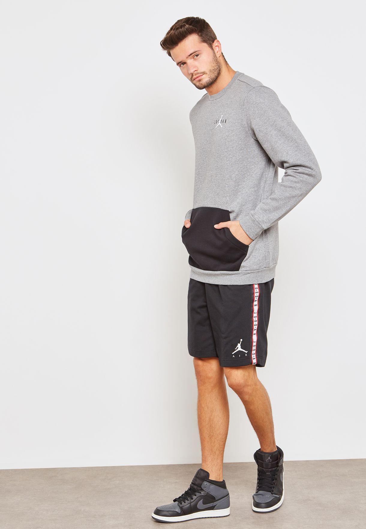 26ee3c7b59d3 Shop Nike black Air Jordan Shorts AR2216-010 for Men in UAE ...